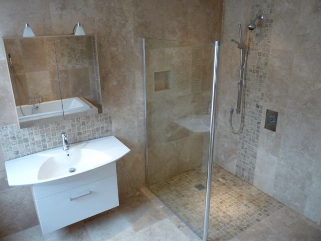 Steve simpson building and plumbing services in hull east for Wet floor bathroom designs